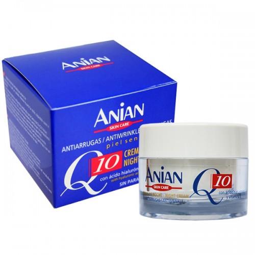 Crema Antirid de Noapte Anian Q10