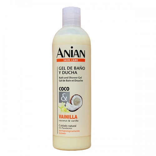 Anian Coconut and Vanilla Shower Gel
