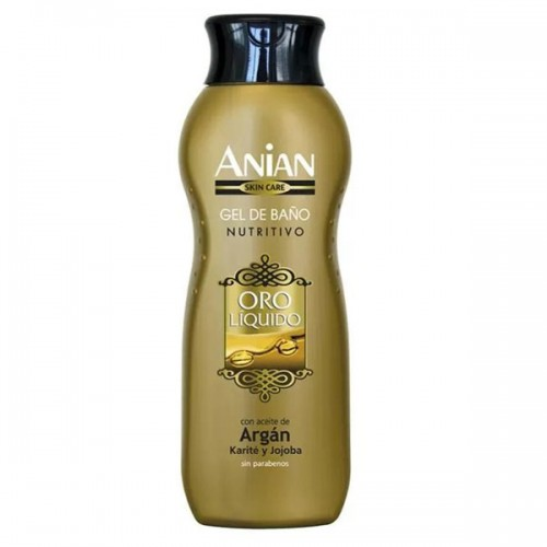 Nourishing Anian Shower Gel with Argan, Shea and Jojoba Oil