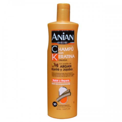 Keratin and Argan Oil Shampoo