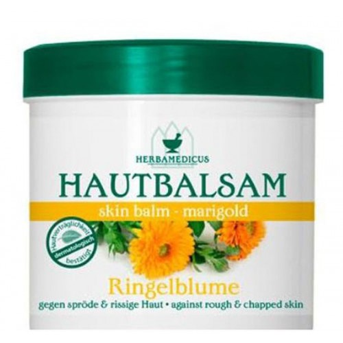 Balm with marigold extract