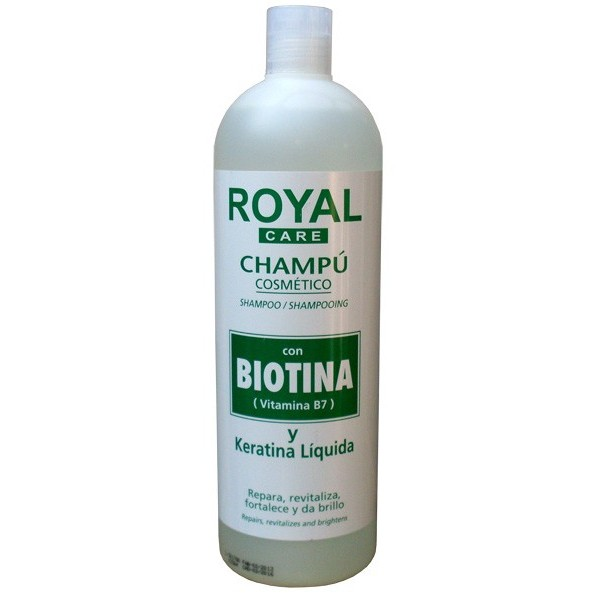 Royal Shampoo With Biotin Triodeluxe Cosmetics