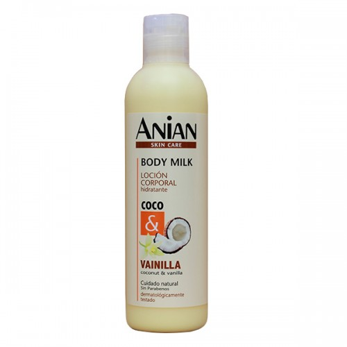 Coconut and Vanilla Body Milk