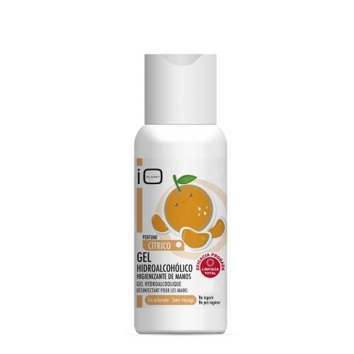 IO Planet Hydro-alcoholic hand sanitising gel fragrance Tangerine 100 ml