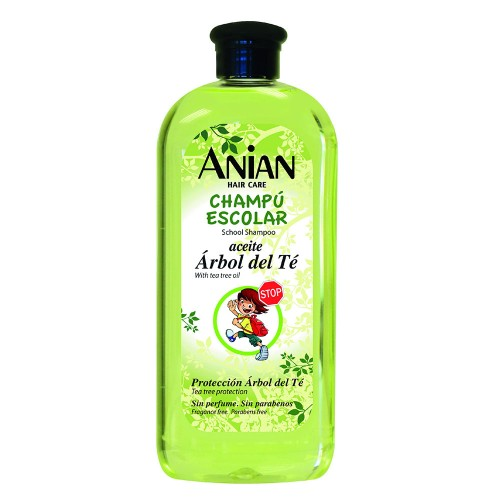 School shampoo with tree oil